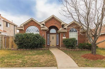 Rowlett Single Family Home Active Option Contract: 1706 Marcella Lane