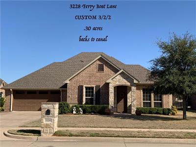 Granbury Single Family Home For Sale: 3228 Ferry Boat Lane