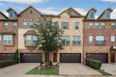 Irving Townhouse For Sale: 7856 Oxer Drive
