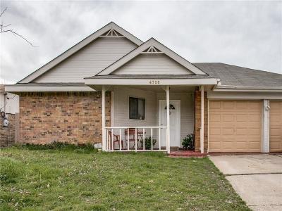 Arlington Single Family Home For Sale: 4706 Green Hollow Drive
