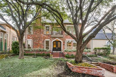 Dallas Single Family Home For Sale: 4 Glenshire Court