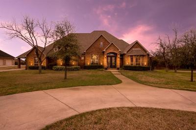 Stephenville Single Family Home For Sale: 1403 Highland View Road