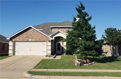 Burleson Single Family Home For Sale: 716 Wrigley Drive
