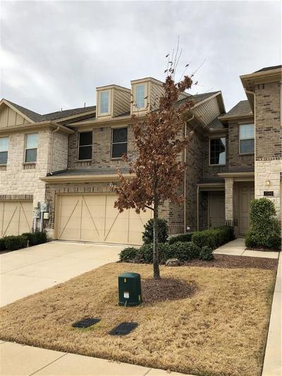 Denton County Townhouse For Sale: 2584 Jackson Drive