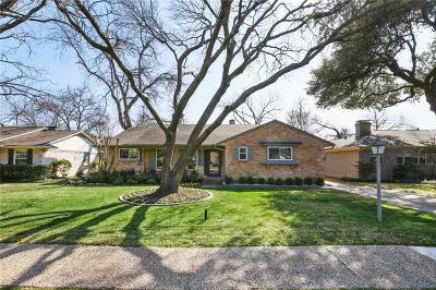 Dallas Single Family Home For Sale: 6936 Arboreal Drive