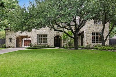 Dallas Single Family Home For Sale: 10842 Camellia Drive