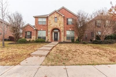 Frisco Single Family Home For Sale: 11154 Monarch Drive