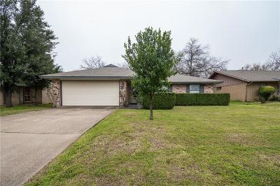 Plano Single Family Home Active Option Contract: 1504 Sylvan Drive