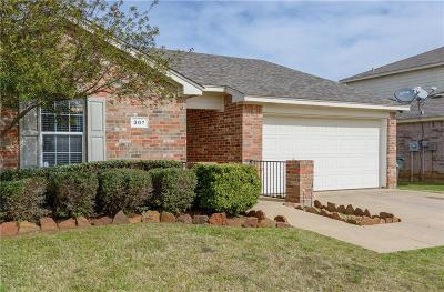 Denton County Single Family Home Active Option Contract: 307 Deer Run Drive