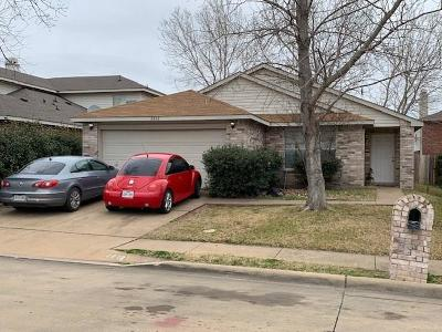 Mesquite Single Family Home For Sale: 2812 Quail Run Drive