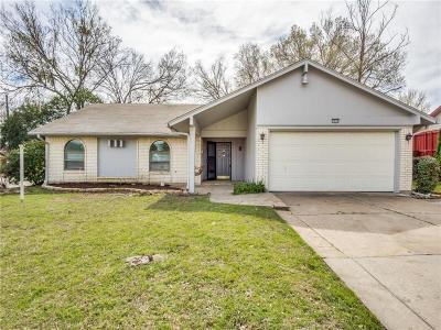 Carrollton Single Family Home For Sale: 2038 Statler Drive