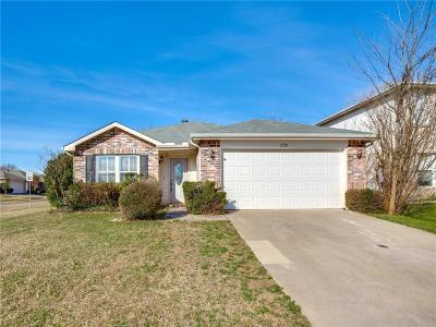 McKinney Single Family Home For Sale: 2721 Frontier Lane