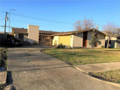 Dallas Single Family Home For Sale: 12107 High Meadow Drive