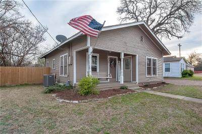 Parker County Single Family Home For Sale: 319 W Russell Street