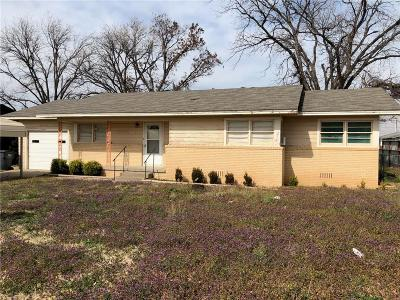 Baylor County Single Family Home For Sale: 208 W Custer