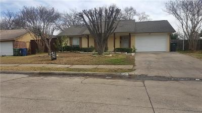 Garland Single Family Home For Sale: 4814 Cloverdale Lane