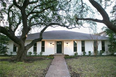 Dallas Single Family Home For Sale: 9333 Loma Vista Drive