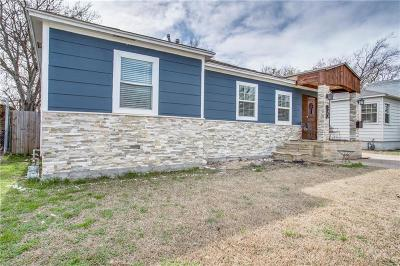 Dallas TX Single Family Home For Sale: $220,000