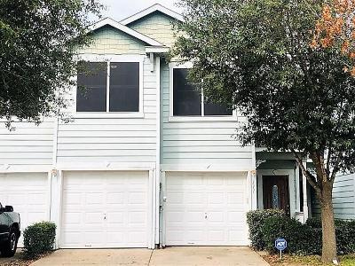 Seagoville Townhouse For Sale: 111 Heritage Court