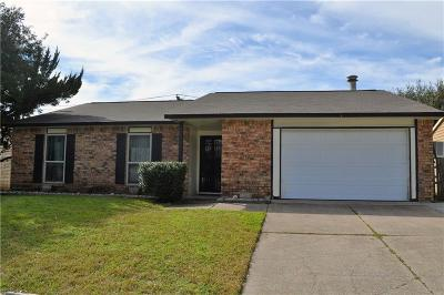 North Richland Hills Single Family Home Active Option Contract: 6309 Yarmouth Avenue