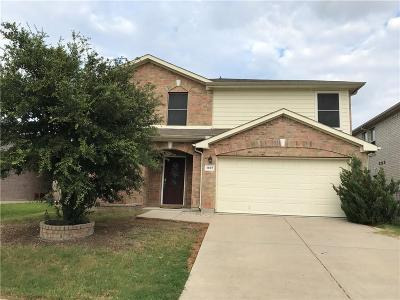 Little Elm Single Family Home For Sale: 1605 Knight Trail