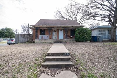 Dallas Single Family Home For Sale: 2500 W 12th Street