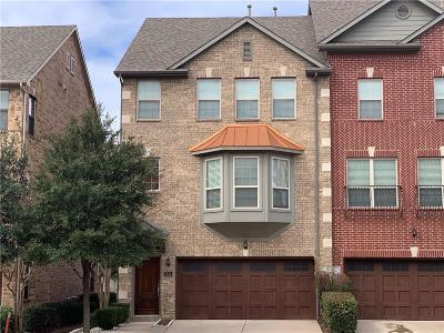 Irving Townhouse For Sale: 7841 Fox Horn Drive
