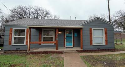 Waxahachie Single Family Home For Sale: 112 Barger Drive
