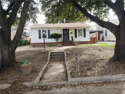 Tarrant County Single Family Home For Sale: 3316 Avenue C Avenue