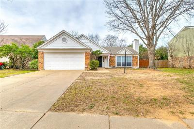 Grand Prairie Single Family Home Active Option Contract: 4445 Spencer Circle