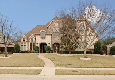 Colleyville Single Family Home Active Option Contract: 6768 St Moritz Parkway