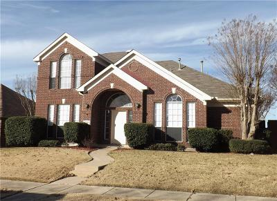 Frisco Single Family Home For Sale: 10000 Danbury Drive