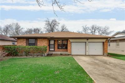 Dallas Single Family Home Active Option Contract: 9005 Rustown Drive