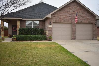 Waxahachie Single Family Home Active Option Contract: 216 Stable Drive