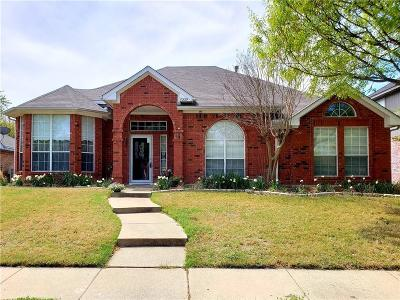 Rowlett Single Family Home For Sale: 7009 Clarendon Street