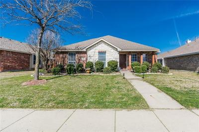Allen Single Family Home Active Contingent: 1603 Balboa Lane