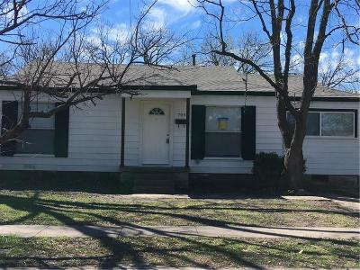 Garland Residential Lease For Lease: 709 Sylvan Drive