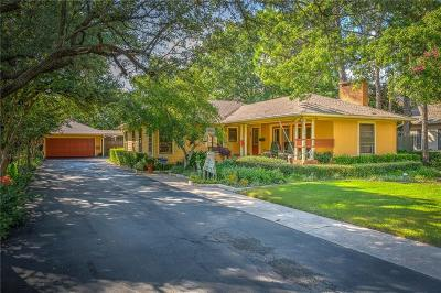 Denton Single Family Home For Sale: 1815 N Bell Avenue