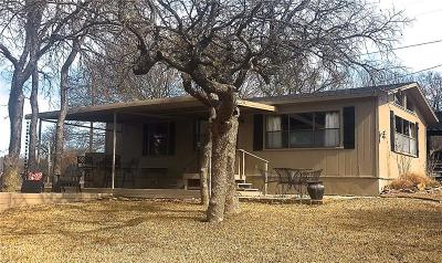 May, Lake Brownwood, Brownwood Single Family Home Active Option Contract: 6031 Cr 594