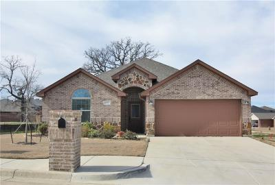 Weatherford Single Family Home Active Contingent: 1912 Town Creek Circle