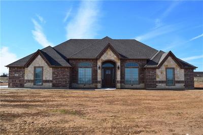 Weatherford TX Single Family Home For Sale: $408,900