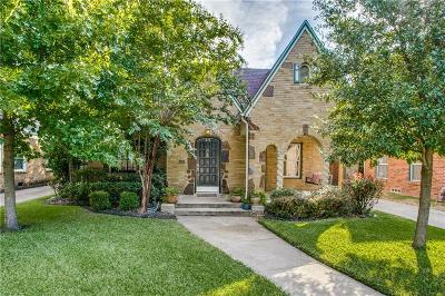 Dallas Single Family Home For Sale: 418 Valencia Street