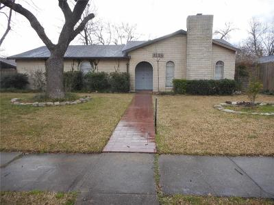 Mesquite Single Family Home For Sale: 3124 Manchester Drive