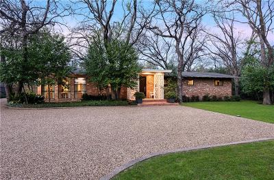 Dallas Single Family Home For Sale: 4419 W Northwest Highway
