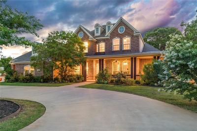 Tarrant County Single Family Home Active Contingent: 4604 Bill Simmons Road