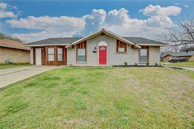 Grand Prairie Single Family Home Active Option Contract: 1621 Acosta Street