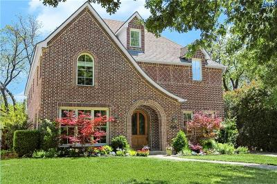 Dallas Single Family Home For Sale: 6122 Bryan Parkway