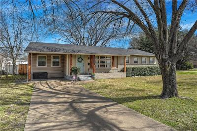 Sherman Single Family Home For Sale: 1405 N Ricketts Street