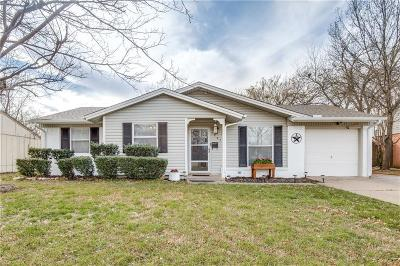 Euless Single Family Home Active Option Contract: 1207 Johns Drive