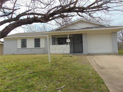 Dallas Single Family Home For Sale: 6231 Bowling Brook Drive